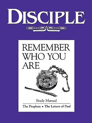 "Disciple Bible Study Cover: Purple book, ""Remember who you are"""